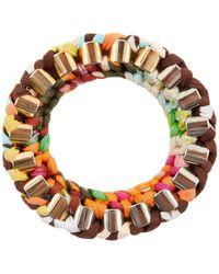 Missoni - Multicolour Cloth Bracelets - Lyst
