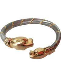 Cartier | Panthère Yellow Gold Bracelet | Lyst