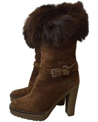Ralph Lauren Collection - Pre-owned Snow Boots - Lyst