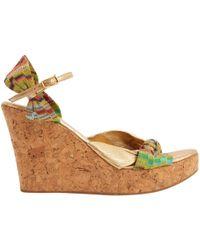 Missoni - Leather Heels - Lyst