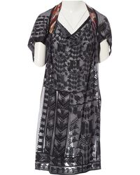 Dries Van Noten - Silk Mid-length Dress - Lyst