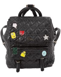 Dior - Pre-owned Leather Backpack - Lyst