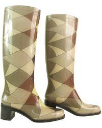Emilio Pucci - Pre-owned Multicolour Plastic Boots - Lyst