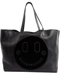 Hill & Friends - Black Leather Handbag - Lyst