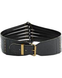 Alaïa - Pre-owned Leather Belt - Lyst