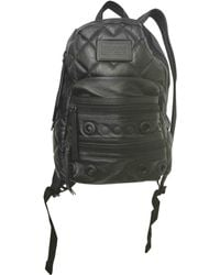 6fc7d3bfd9a Marc By Marc Jacobs New Q Mariska Leather Backpack in Black - Lyst