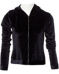 Chanel - Black Viscose Knitwear - Lyst