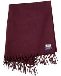 Acne Studios - Burgundy Wool Scarves - Lyst