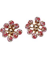 Louis Vuitton - Pink Metal Earrings - Lyst