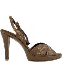 Barbara Bui - Brown Leather High Heel - Lyst