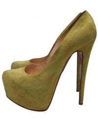 Christian Louboutin - Pre-owned Daffodile Heels - Lyst