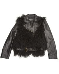 Moschino - Leather Jacket - Lyst