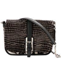 Longchamp - Pre-owned Pony-style Calfskin Handbag - Lyst