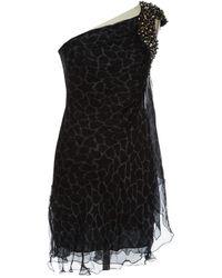 Philipp Plein - Silk Mini Dress - Lyst