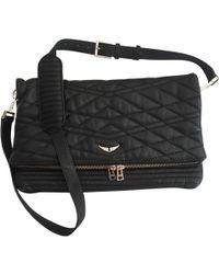 Zadig & Voltaire - Rock Leather Handbag - Lyst