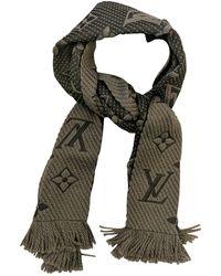 Louis Vuitton - Wool Scarf - Lyst