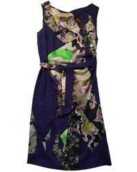 Dries Van Noten - Pre-owned Purple Silk Dresses - Lyst