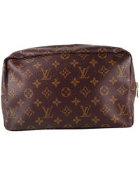 Louis Vuitton - Pre-owned Cloth Vanity Case - Lyst
