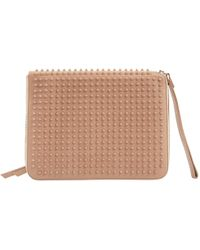 Pre-owned - Leather clutch bag Christian Louboutin KtOOVg