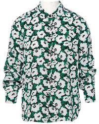 c171b1a5c8817 Lyst - Stella Mccartney Floral Silk Blouse in Black