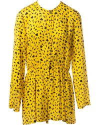 Roseanna - Yellow Viscose Jumpsuits - Lyst