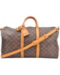 Louis Vuitton - Keepall Cloth 24h Bag - Lyst