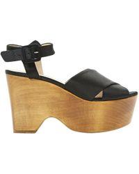 Céline - Pre-owned Cloth Sandals - Lyst