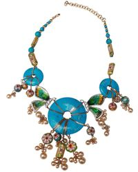 Dior - Other Metal Necklace - Lyst