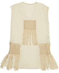 Anna Sui - Mini vestido - Lyst