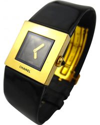 Chanel - Matelassée Yellow Gold Watch - Lyst