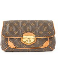 55040097931f Authentic Cosmetic Pouch Bag Epi Leather Orange M40642.  608  362 (40%  off). Reebonz · Louis Vuitton - Pre-owned Cloth Clutch Bag - Lyst