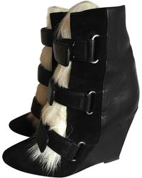 Isabel Marant - Leather Ankle Boots - Lyst