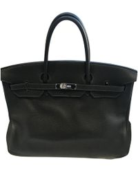 Hermès - Birkin Leather Handbag - Lyst