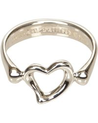 Tiffany & Co. - Silver Metal Ring - Lyst