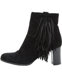 40c2e77c2145 Lyst - Christian Louboutin Karistrap 70 Leather Ankle Boot in Black