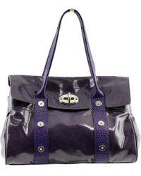 9308454981 Vestiaire Collective · Mulberry - Alexa Patent Leather Handbag - Lyst