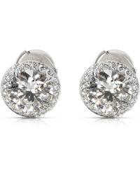 c66dd8a90 Tiffany & Co. - Other Platinum Earrings - Lyst