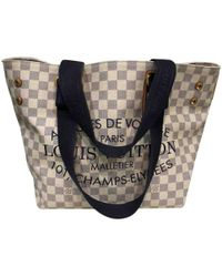 Louis Vuitton - Pre-owned Other Cloth Handbags - Lyst