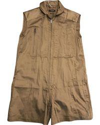 Isabel Marant - Khaki Cotton Jumpsuits - Lyst