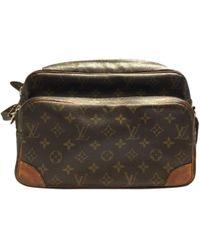 Louis Vuitton   Pre-owned Nile Cloth Handbag   Lyst