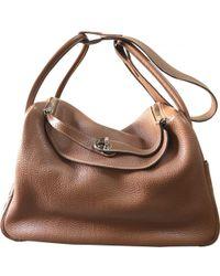 Hermès - Lindy Leather Handbag - Lyst