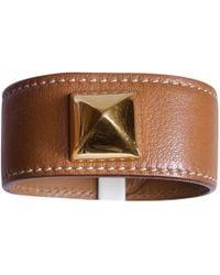 Hermès - Leather Bracelet - Lyst