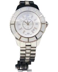 Dior - Christal White Steel Watches - Lyst
