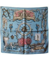 Hermès - Gavroche 45 Multicolour Silk Scarves - Lyst