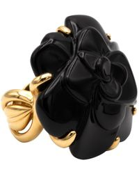 Chanel - Camélia Yellow Gold Ring - Lyst