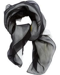 Givenchy - Pre-owned Other Silk Scarves - Lyst