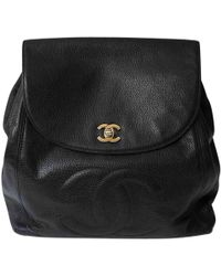 Chanel - Pre-owned Leather Backpack - Lyst