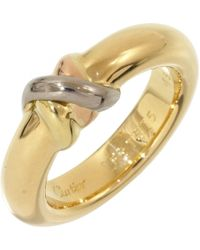 Cartier | Yellow Gold Ring | Lyst