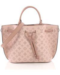 Louis Vuitton - Girolata Leder Shopper - Lyst