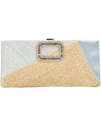 Roger Vivier - Pre-owned Cloth Clutch Bag - Lyst